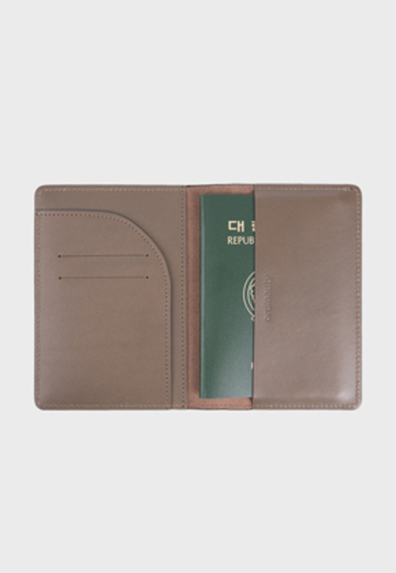 Ordinauty오디너티 All in 1 PASSPORT GRAY (Buttero, Italy vegetable leather)