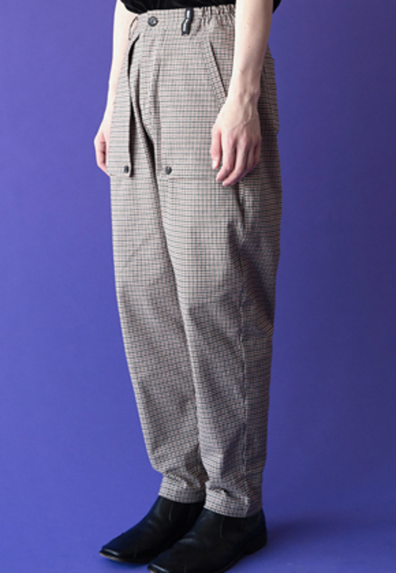 ESC Studio이에스씨스튜디오 Pocket layered pants (check)