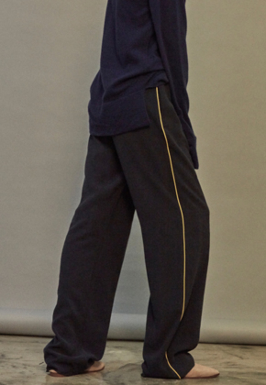 NOHANT노앙 BRUNCH WIDE PANTS NAVY