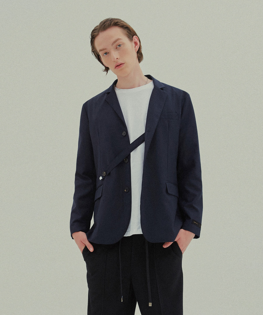 Trip LE Sens트립르센스 LE HIDDEN STRAP SG BLAZER DARK NAVY