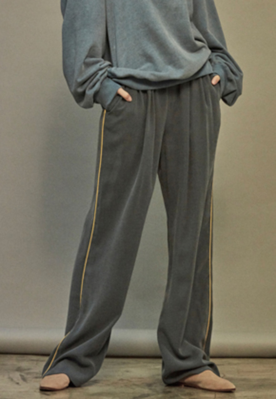 NOHANT노앙 BRUNCH WIDE PANTS SKY BLUE