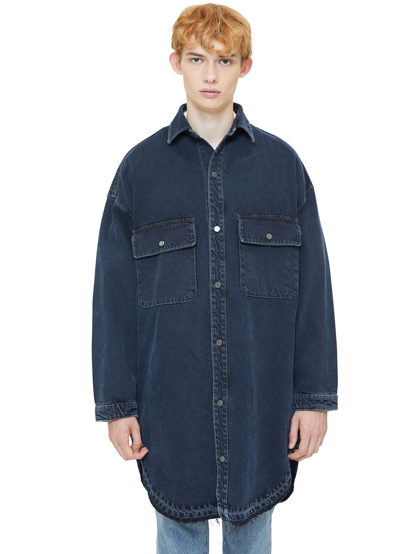 Lab101랩원오원 INDIGO NOMAD SHACKET