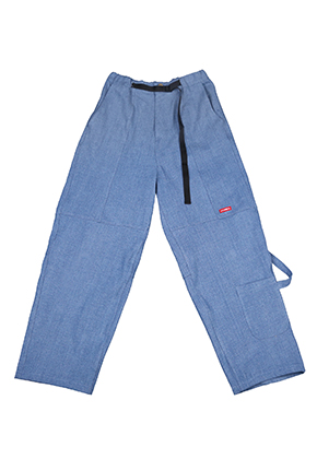 AJO BY AJO아조바이아조 Painter Denim Pants [Blue]