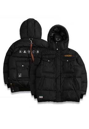 Romantic Crown로맨틱크라운 ALL SET Goose Down Parka_Black