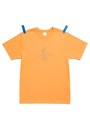 KIT키트 Kit diving t-shirt (orange)