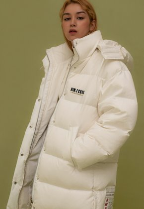 DIM.E.CRES.딤에크레스 (당일출고) ORIGINAL DUCK DOWN FAROUT JUMBO PARKA_WHITE