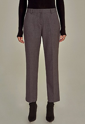 Yan13얀써틴 SPECIAL STRAIGHT SLACKS_CHARCOAL