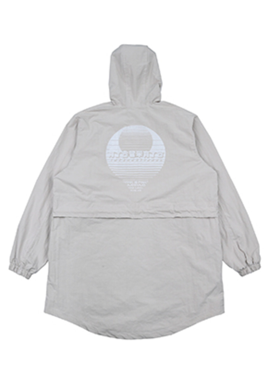 AJO BY AJO FINK LABEL CH Sunset Logo Anorak [Cream]