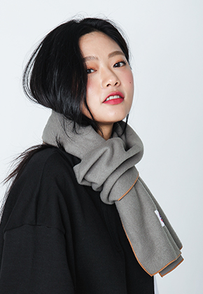 Pepperseasoning페퍼시즈닝 WOOL MUFFLER_KHAKI