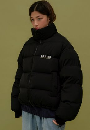 DIM.E.CRES.딤에크레스 (당일출고) ORIGINAL DUCK DOWN FAROUT REVERSIBLE_BLACK