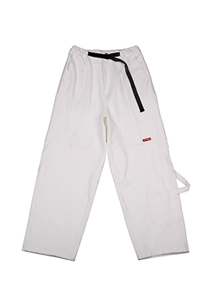 AJO BY AJO아조바이아조 Painter Denim Pants [White]