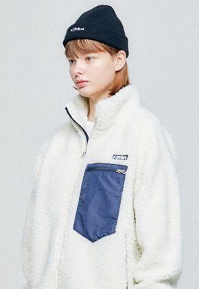 KIRSH키르시 [당일배송] FLEECE JACKET HA [IVORY]