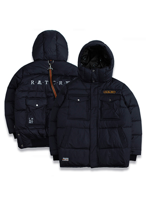 Romantic Crown로맨틱크라운 ALL SET Goose Down Parka_Navy