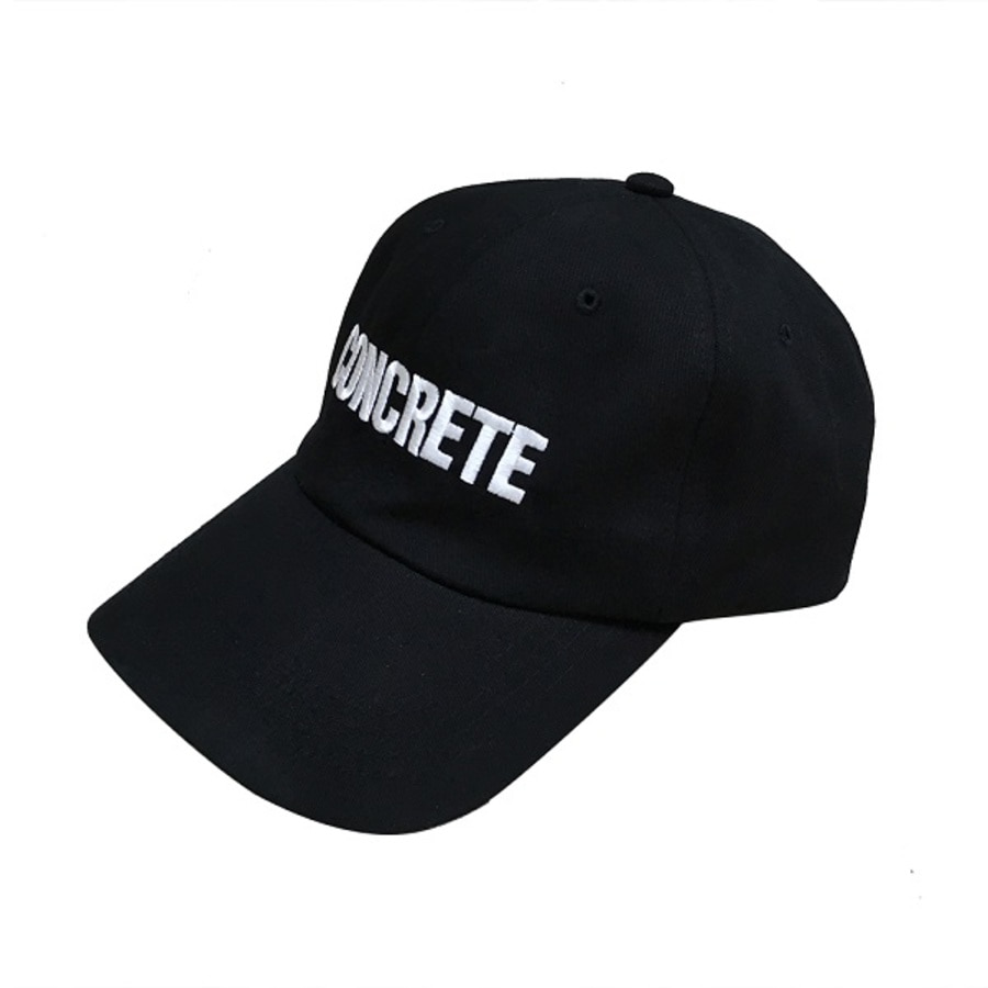 Concreat콘크리트 CONCRETE WORK BALLCAP BLACK