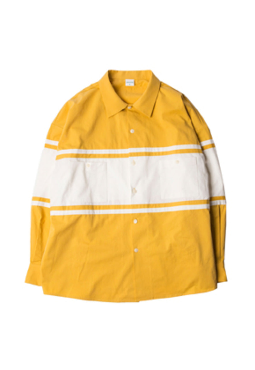 SANDPIPER샌드파이퍼 RUGBY SHIRTS YELLOW/WHITE