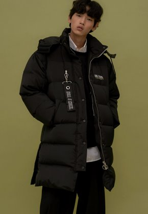 DIM.E.CRES.딤에크레스 (당일출고) ORIGINAL DUCK DOWN FAROUT JUMBO PARKA_BLACK