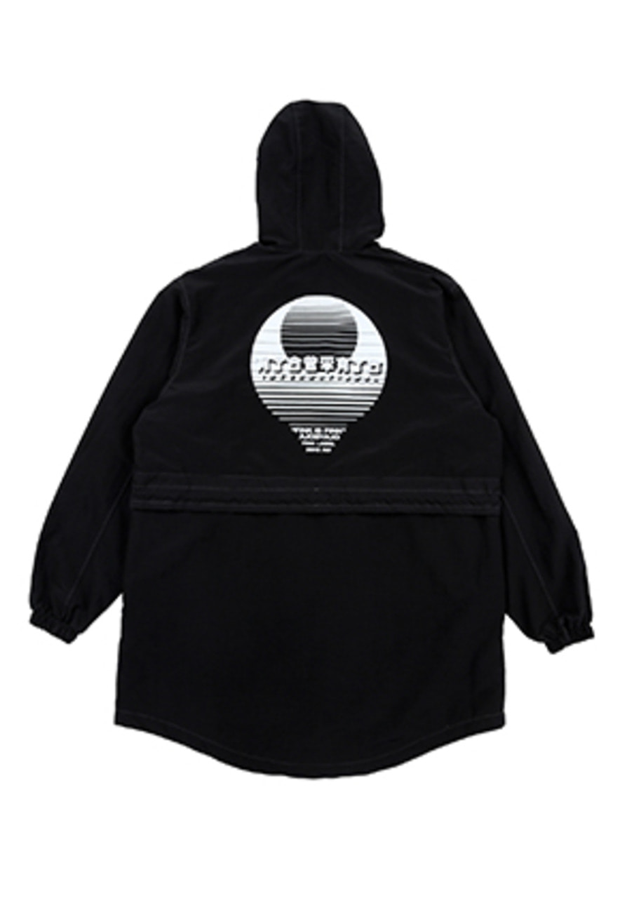 AJO BY AJO FINK LABEL CH Sunset Logo Anorak [Black]