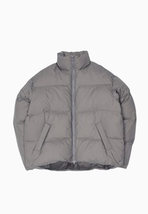 MMGL미니멀가먼츠랩 Puffy down jacket (Grey)