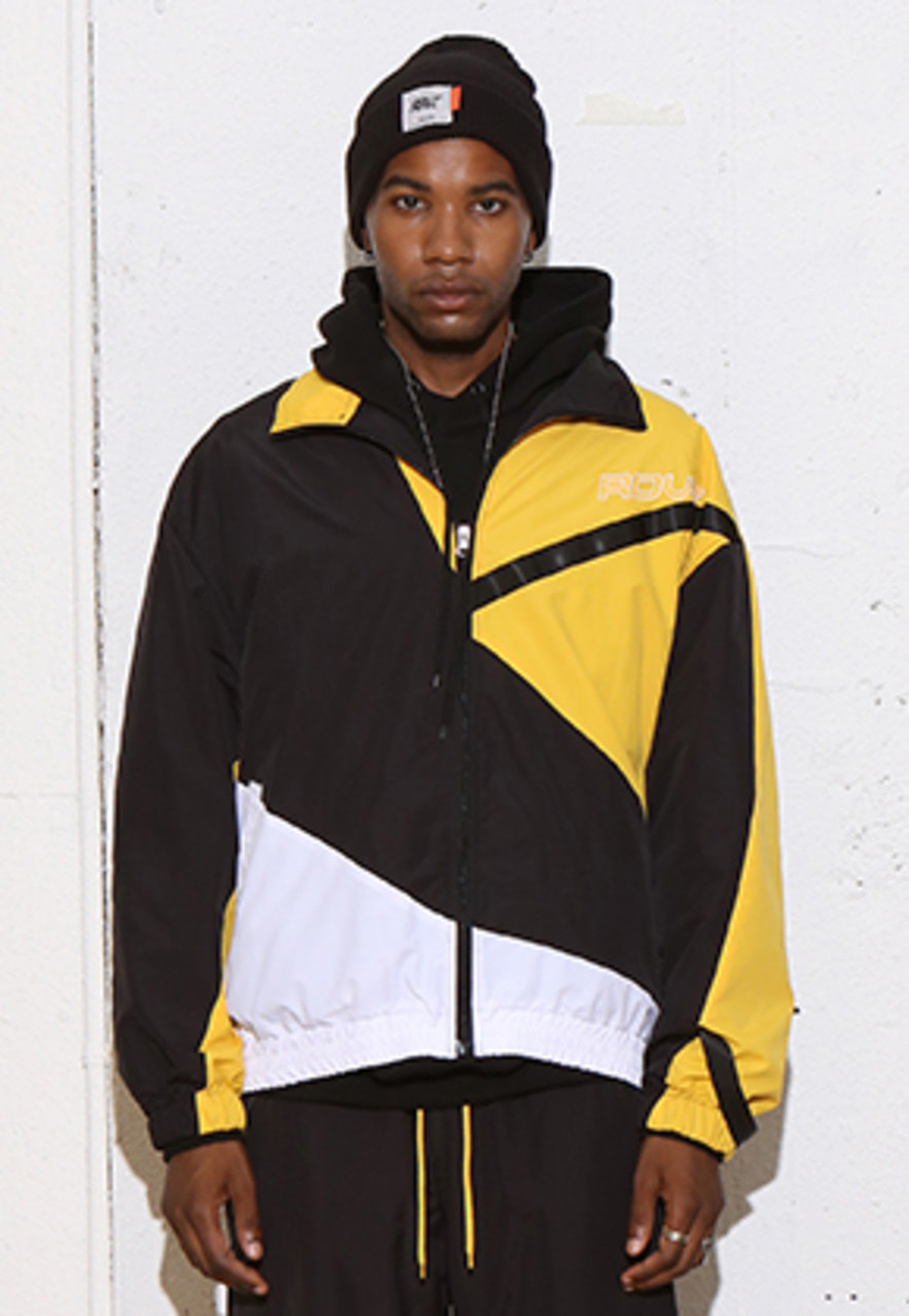 RDVZ DIAGONAL 3.0 WINDBREAKER BLACK