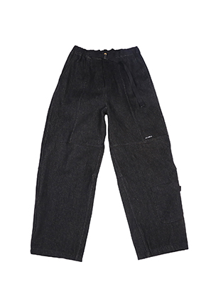 AJO BY AJO아조바이아조 Painter Denim Pants [Black]