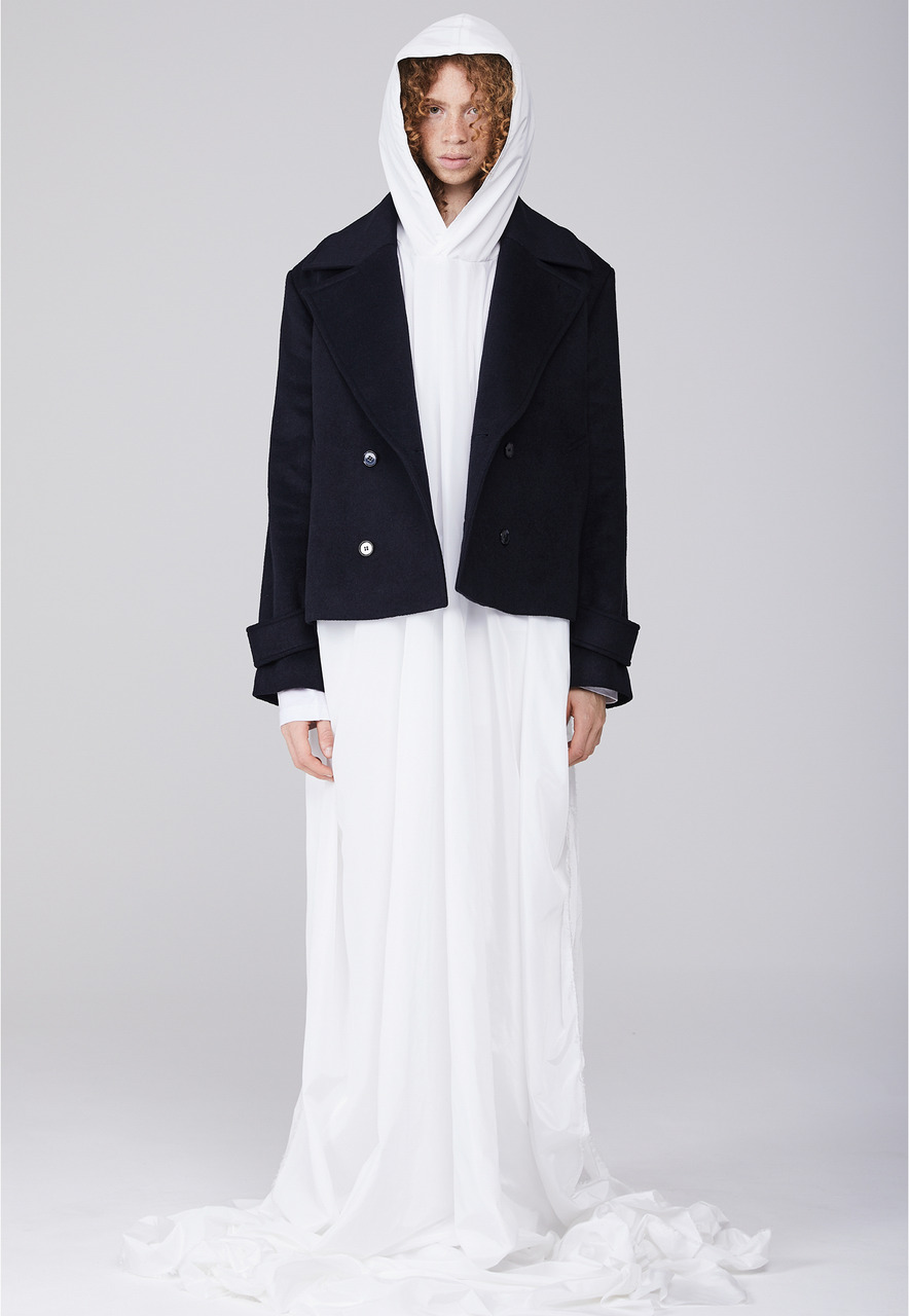 Millin밀린 [BOUTIQUE LINE] PONCHO (WHITE)