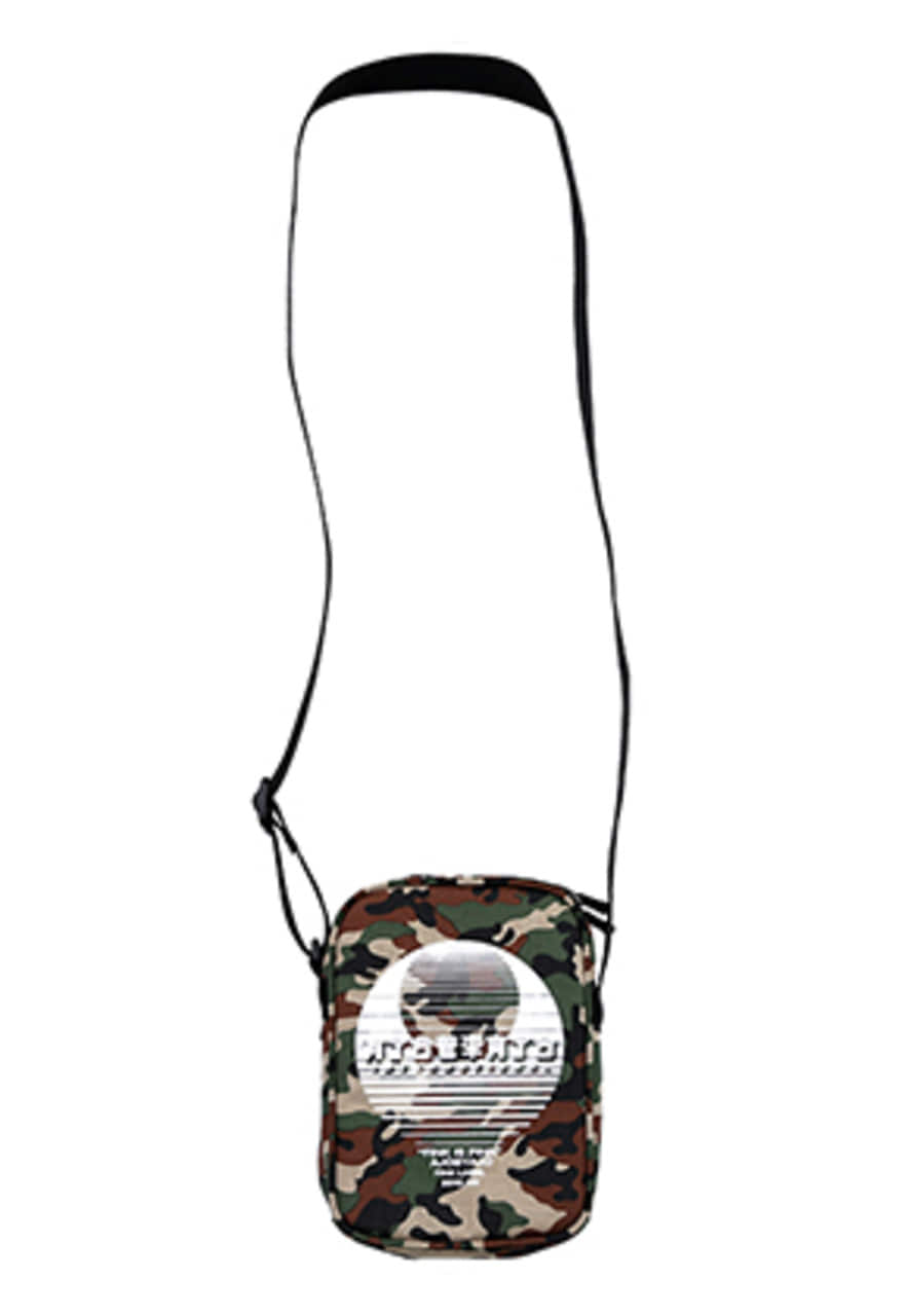 AJO BY AJO FINK LABEL CH Sunset Logo Side Bag [Camo]
