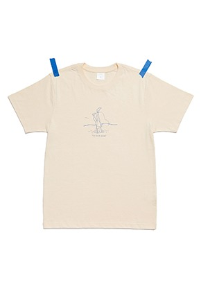 KIT키트 Kit diving t-shirt (beige)