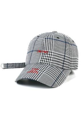 Stigma스티그마 BrTW BASEBALL CAP GLEN CHECK