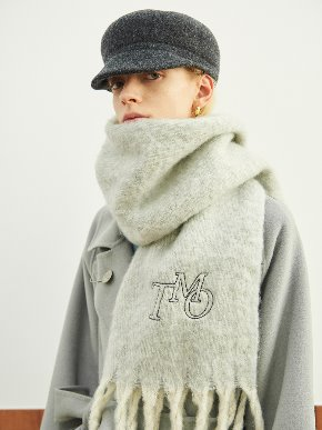 TMO BY 13Month 티엠오 바이 써틴먼스 TMO WIDE LONG MUFFLER (GRAY)