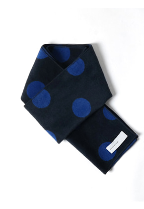 MeetMetMeet밋맷밋 rectangle dot blue