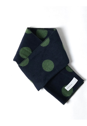 MeetMetMeet밋맷밋 rectangle dot green