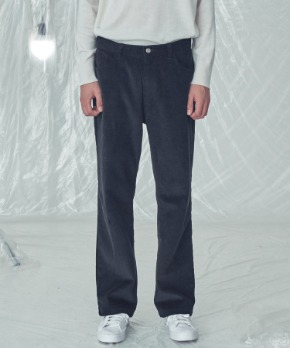 Trip LE Sens트립르센스 LE CORDUROY WIDE FIT PANTS BLACK