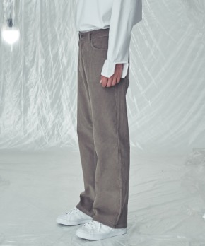 Trip LE Sens트립르센스 LE CORDUROY WIDE FIT PANTS BEIGE
