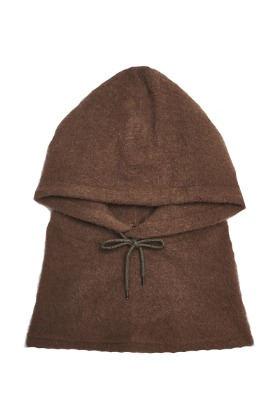 13Month써틴먼스 HOOD NECK WARMER (BROWN)