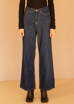 Decolor디컬러 Heavy Wide Denim -One wash-
