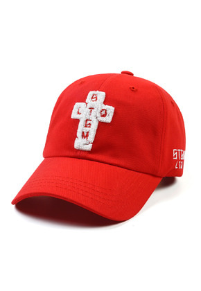 Stigma스티그마 AOS BASEBALL CAP RED