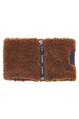 13Month써틴먼스 BOUCLE NECK WARMER (BROWN)