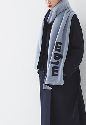 Millogrem밀로그램 MLGM Gemini Muffler - light gray