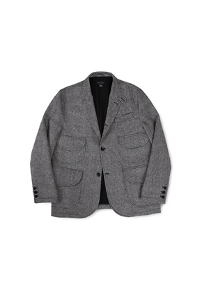 Ballute발루트 MAGAZINE JACKET (GREY WOOL)