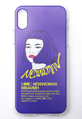 MMIC엠엠아이씨 iPHONEX NEWWOMAN-1 (PURPLE)
