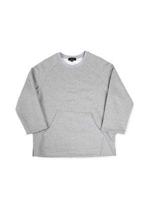 Ballute발루트 EASY SLEEVE SWEATSHIRT (GREY)