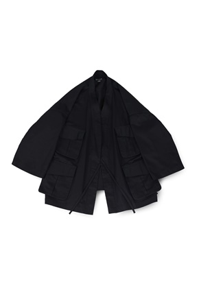Ballute발루트 B.D.U ROBE JACKET (BLACK)