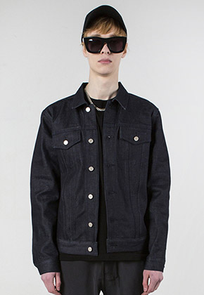 MMIC엠엠아이씨 RAW DENIM JACKET-[JS-003]