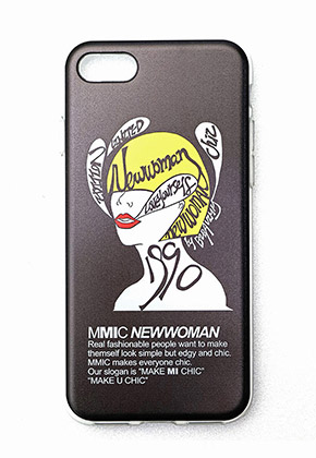 MMIC엠엠아이씨 iPHONE7,8 NEWWOMAN-2 (BLACK)