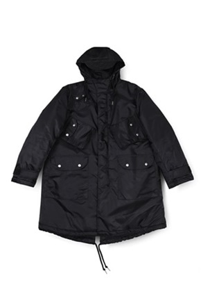 Ballute발루트 C-1 BLIZZARD PARKA (BLACK)
