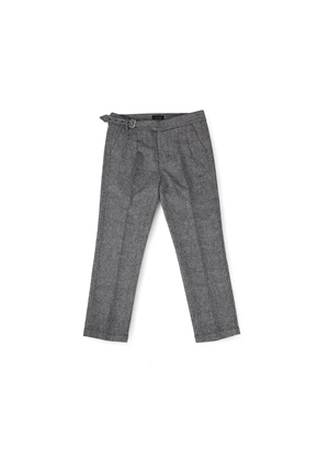 Ballute발루트 MAGAZINE SINGLE GURKHA PANTS (GREY WOOL)
