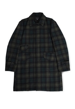 Ballute발루트 EASY BALMACAAN COAT (CHECK)