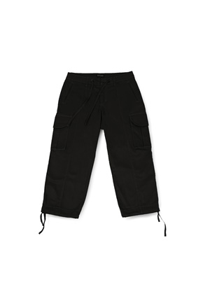Ballute발루트 B.D.U WIDE STRING PANTS (BLACK)