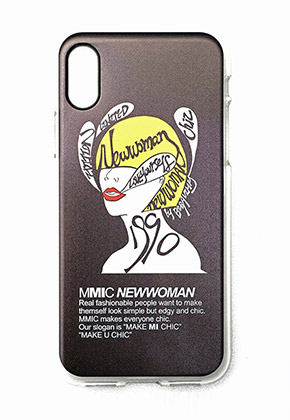 MMIC엠엠아이씨 iPHONEX NEWWOMAN-2 (BLACK)