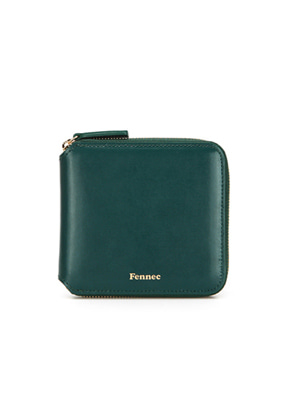 Fennec페넥 (당일발송) ZIPPER WALLET MOSS GREEN